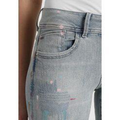 GStar LYNN MID SKINNY Jeans Skinny Fit elto. Szare jeansy damskie relaxed fit marki G-Star. W wyprzedaży za 411,95 zł.