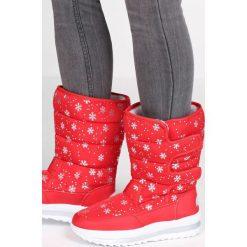Czerwone Śniegowce Arrangement. Czerwone buty zimowe damskie Born2be, za kostkę. Za 89,99 zł.