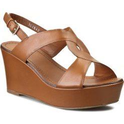 Rzymianki damskie: Sandały BRUNO PREMI – BY BPRIVATE Poncho A1301X Cuoio