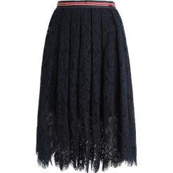 Replay SKIRT Spódnica trapezowa ink blue. Niebieskie spódniczki plisowane damskie Replay, l, z bawełny. Za 619,00 zł.
