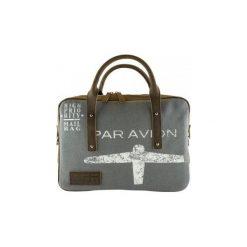 Torba Sachentransporter Par Avion Laptop Bag (0737382610458). Szare torby na laptopa marki Sachentransporter. Za 517,64 zł.
