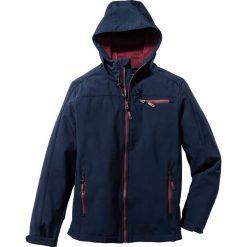 Kurtka softshell Regular Fit bonprix ciemnoniebieski. Niebieskie kurtki softshell męskie marki bonprix, m, z softshellu. Za 169,99 zł.