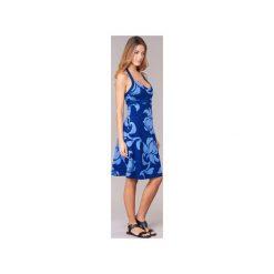 Sukienki krótkie Patagonia  ILIANA HALTER. Niebieskie sukienki mini marki Patagonia, xs, z dekoltem halter, z krótkim rękawem. Za 247,20 zł.