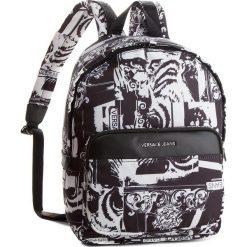 Plecak VERSACE JEANS - E1YSBB05-70722 Nylon Stampato. Czarne plecaki męskie Versace Jeans, z jeansu. W wyprzedaży za 449,00 zł.