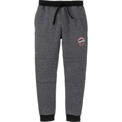 Spodnie dresowe bonprix czarny melanż. Czarne spodnie dresowe męskie marki bonprix, melanż, z dresówki. Za 89,99 zł.