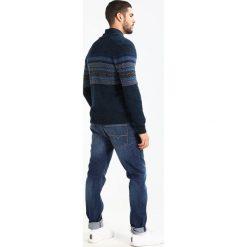 Swetry rozpinane męskie: Benetton Kardigan navy