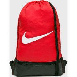 Nike - Plecak. Czerwone plecaki męskie Nike, z poliesteru. W wyprzedaży za 39,90 zł.