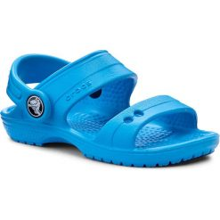 Sandały CROCS - Classic Sandal K 200448 Ocean. Niebieskie sandały chłopięce marki Crocs, z tworzywa sztucznego. Za 89,00 zł.