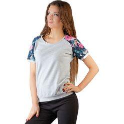 Topy sportowe damskie: Bluzka w kolorze jasnoszarym