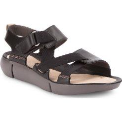 Rzymianki damskie: Sandały CLARKS – Tri Clover 261312734 Black Combi