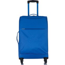 """Walizki: Walizka """"Anais"""" w kolorze niebieskim – 42 x 60 x 26 cm"""