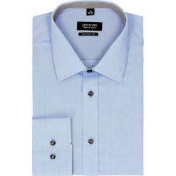 Koszula bexley 2462 długi rękaw custom fit niebieski. Niebieskie koszule męskie Recman, m, z długim rękawem. Za 139,00 zł.