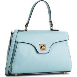 Torebka CREOLE - K10514  Błękit. Niebieskie torebki klasyczne damskie Creole, ze skóry, duże. W wyprzedaży za 209,00 zł.