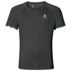 Odlo Koszulka męska T-shirt s/s YOCTO grafitowy r. L (347992). Szare t-shirty męskie Odlo, l. Za 219,95 zł.