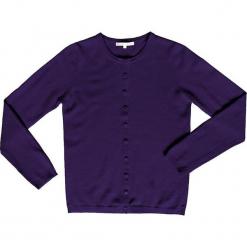 Kardigan kaszmirowy w kolorze fioletowym. Fioletowe kardigany damskie marki Ateliers de la Maille, z kaszmiru. W wyprzedaży za 318,95 zł.