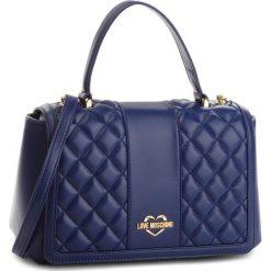 Torebka LOVE MOSCHINO - JC4007PP16LA0750  Blu. Niebieskie torebki klasyczne damskie marki Love Moschino, ze skóry ekologicznej. W wyprzedaży za 649,00 zł.