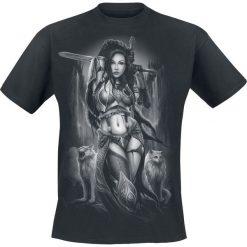 Toxic Angel Freya T-Shirt czarny. Czarne t-shirty męskie z nadrukiem Toxic Angel, xl, z dekoltem na plecach. Za 99,90 zł.