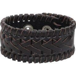 Viking Style Bransoletka skórzana brązowy. Brązowe bransoletki damskie na nogę marki Sinsay. Za 42,90 zł.
