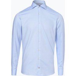 Joop - Koszula męska – Panko, niebieski. Szare koszule męskie marki JOOP!, z bawełny, z klasycznym kołnierzykiem, z długim rękawem. Za 349,95 zł.