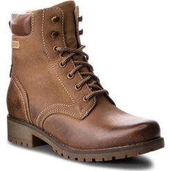 Trapery LASOCKI - WI20-SYRENA-04 Brązowy. Brązowe buty zimowe damskie Lasocki, z nubiku. Za 199,99 zł.