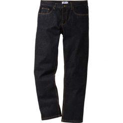 Dżinsy Regular Fit Straight bonprix czarny. Czarne jeansy męskie regular bonprix. Za 74,99 zł.
