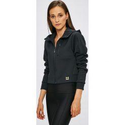 Under Armour - Bluza. Czarne bluzy z kapturem damskie marki Under Armour, l, z dzianiny. W wyprzedaży za 359,90 zł.