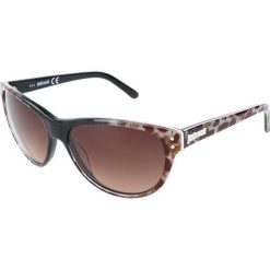 """Okulary przeciwsłoneczne damskie aviatory: Okulary przeciwsłoneczne """"JC497S 05F"""" w kolorze brązowym"""