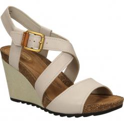 SANDAŁY CLARKS OVERLY SHIMMER 2610590. Czarne sandały damskie marki Clarks, z materiału. Za 209,99 zł.