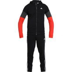 Spodnie dresowe męskie: adidas Performance Dres black/red/solid grey