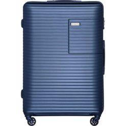 Walizki: Walizka w kolorze niebieskim – (S)52 x (W)78 x (G)30 cm