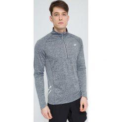 Bluzy męskie: Bluza treningowa męska BLMF205 – szary melanż