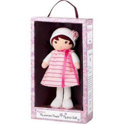 """Przytulanki i maskotki: Przytulanka-lalka """"Rose"""" w kolorze jasnoróżowo-białym – (W)25 cm"""