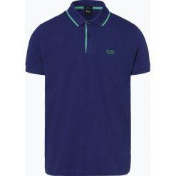 BOSS Athleisurewear - Męska koszulka polo – Peos 2, niebieski. Niebieskie koszulki polo BOSS Athleisurewear, m, z bawełny. Za 299,95 zł.