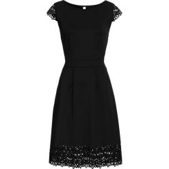 Sukienki: Sukienka z wycięciami bonprix czarny