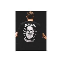 T-shirt brodaty skvrwiel. Szare t-shirty męskie marki Button. Za 109,00 zł.