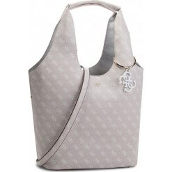 Torebka GUESS - HWSG68 65030 SAN. Niebieskie torebki klasyczne damskie marki Guess, z materiału. Za 699,00 zł.