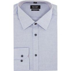 Koszula bexley 2325 długi rękaw slim fit niebieski. Szare koszule męskie slim marki Recman, na lato, l, w kratkę, button down, z krótkim rękawem. Za 129,00 zł.