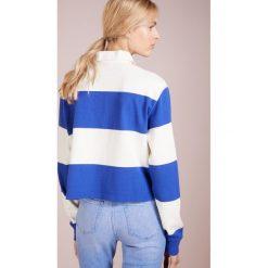 Bluzki damskie: Polo Ralph Lauren LOOSE UNEVEN Koszulka polo graphic royal