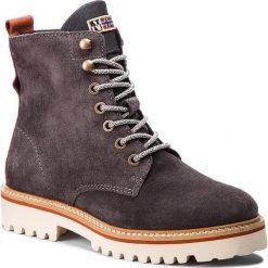 Trapery NAPAPIJRI - Hilda 17743017 Grey N80. Szare buty zimowe damskie marki Napapijri, z dzianiny. W wyprzedaży za 519,00 zł.