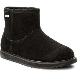 Buty EMU AUSTRALIA - Paterson Classic Mini W11619 Black. Czarne buty zimowe damskie marki EMU Australia, ze skóry, na niskim obcasie. Za 679,00 zł.