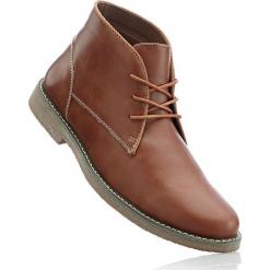 Kozaki sznurowane bonprix koniakowy. Czarne buty zimowe męskie marki bonprix, tenisowe. Za 129,99 zł.