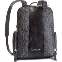 Plecak CALVIN KLEIN - Mono Black Backpack K60K604690 904. Czarne plecaki męskie Calvin Klein, ze skóry ekologicznej. Za 749,00 zł.