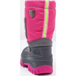 CMP KIDS AHTO WP Śniegowce pink fluo. Czerwone buty zimowe damskie CMP, z materiału. W wyprzedaży za 146,30 zł.
