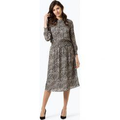 Marie Lund - Sukienka damska – Coordinates, czarny. Niebieskie sukienki z falbanami marki Marie Lund, z szyfonu, eleganckie. Za 499,95 zł.