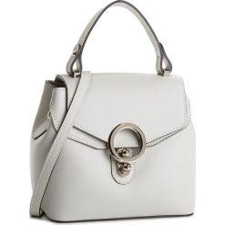 Torebka CREOLE - K10511  Szary. Szare torebki klasyczne damskie Creole, ze skóry. W wyprzedaży za 169,00 zł.