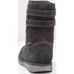 Superfit EMMA Kozaki charcoal/multicolor. Szare buty zimowe damskie marki Superfit, z materiału, na wysokim obcasie. W wyprzedaży za 319,20 zł.