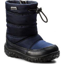 Buty zimowe chłopięce: Śniegowce NATURINO – Falcotto By Naturino 0013001202.07.9161 Bleu F. Do Nero