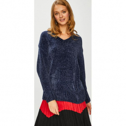 Broadway - Sweter. Brązowe swetry oversize damskie marki Broadway, l, z dzianiny. W wyprzedaży za 89,90 zł.
