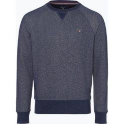 Gant - Męska bluza nierozpinana, szary. Szare bluzy męskie marki GANT, m, prążkowane. Za 379,95 zł.