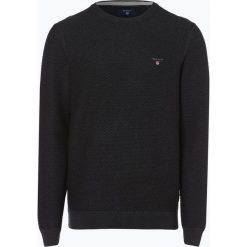 Gant - Sweter męski, szary. Szare swetry klasyczne męskie GANT, m, z dzianiny. Za 579,95 zł.